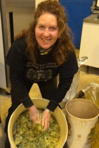 Jane gets to grips with the hops