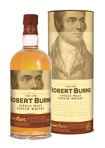 Arran Robert Burns Malt bottle
