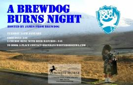 Brewdog at The White Horse
