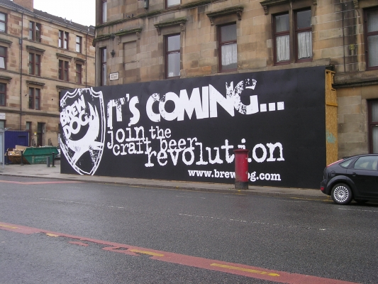 Brewdog Glasgow coming soon