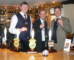 Cheers - the launch of Jubilee Sparkling Ale