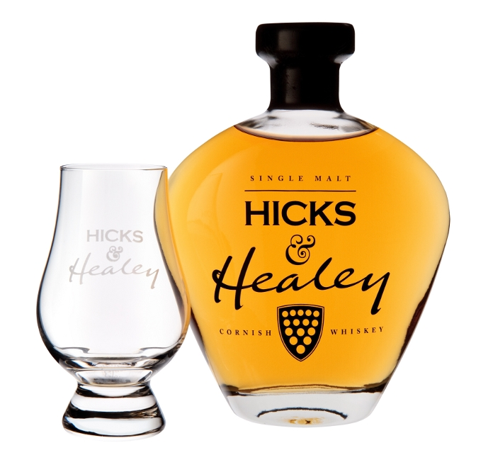 Hicks and Healey Cornish Whisky