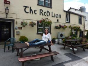 Cathy Price at The Red Lion in Earby