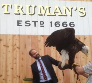 Truman's James and eagle