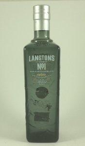 Langtons No.1 Gin bottle