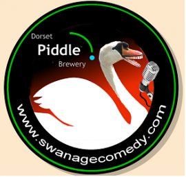Piddle sponsors Swanage Comedy Festival
